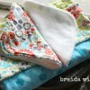 How to Make a Baby Washcloth {with minky fabric}