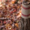 My Other Post is a Broomstick… {quick +simple nature craft}