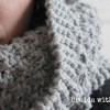 Trying to Stay Warm…{knitting in a storm}