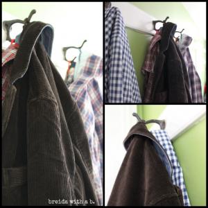 vintage school house coat hooks